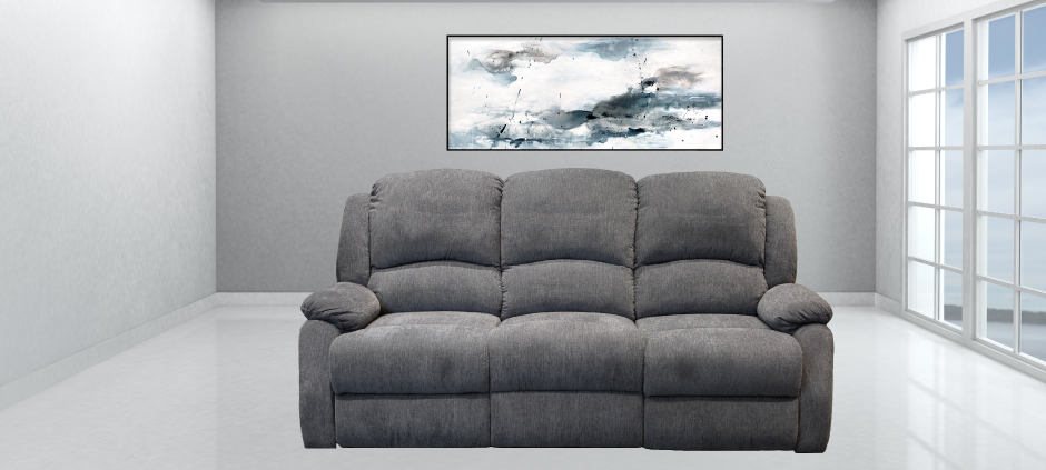 The Crawford Reclining Sofa American Home Line