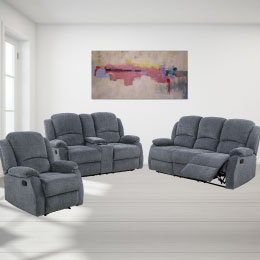 London Luxury 3 Piece Sofa Collection